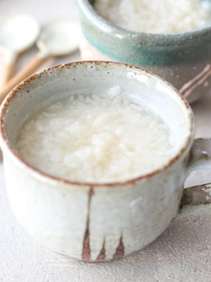 米麹で作る甘酒