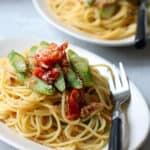 tuna and asparagus pasta