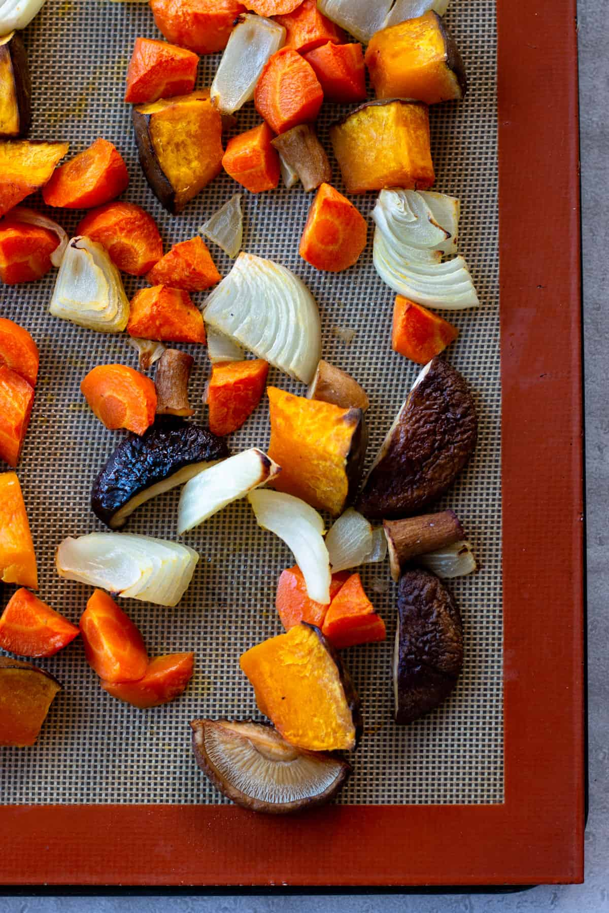 Easy recipe! make Roasted Vegetable with left over vegetables and you can have one more dish for dinner. Just add salt, pepper and olive oil and leave it to the oven. It is highly recommended for busy moms and dads. chefjacooks.com