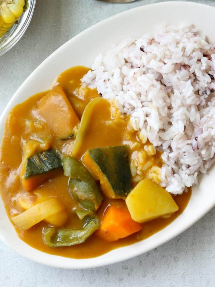 Japanese summer vegetable curry
