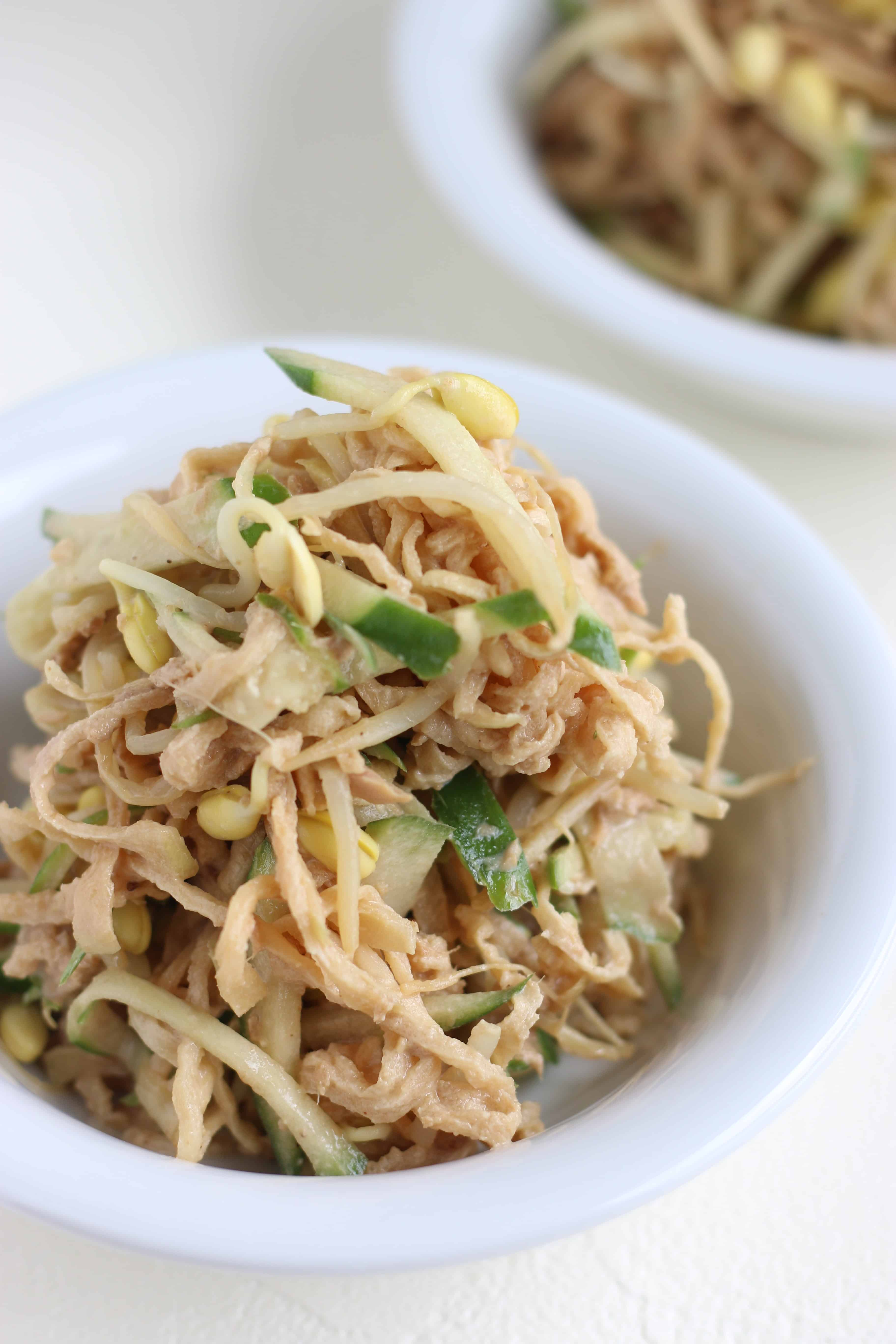 Kiriboshi Daikon(Dried radish) salad | Chef JA Cooks My Simple Gohan  If you wanna try something new, Kiriboshi Daikon Salad is nutritious and healthy, and easy to make . Here are some simple salad recipes that you can enjoy. | Food blog run by mama of two. Introducing simple Japanese home cooking recipes that are useful every day, easy-to-make snacks, and healthy yummy dishes. chefjacooks.com