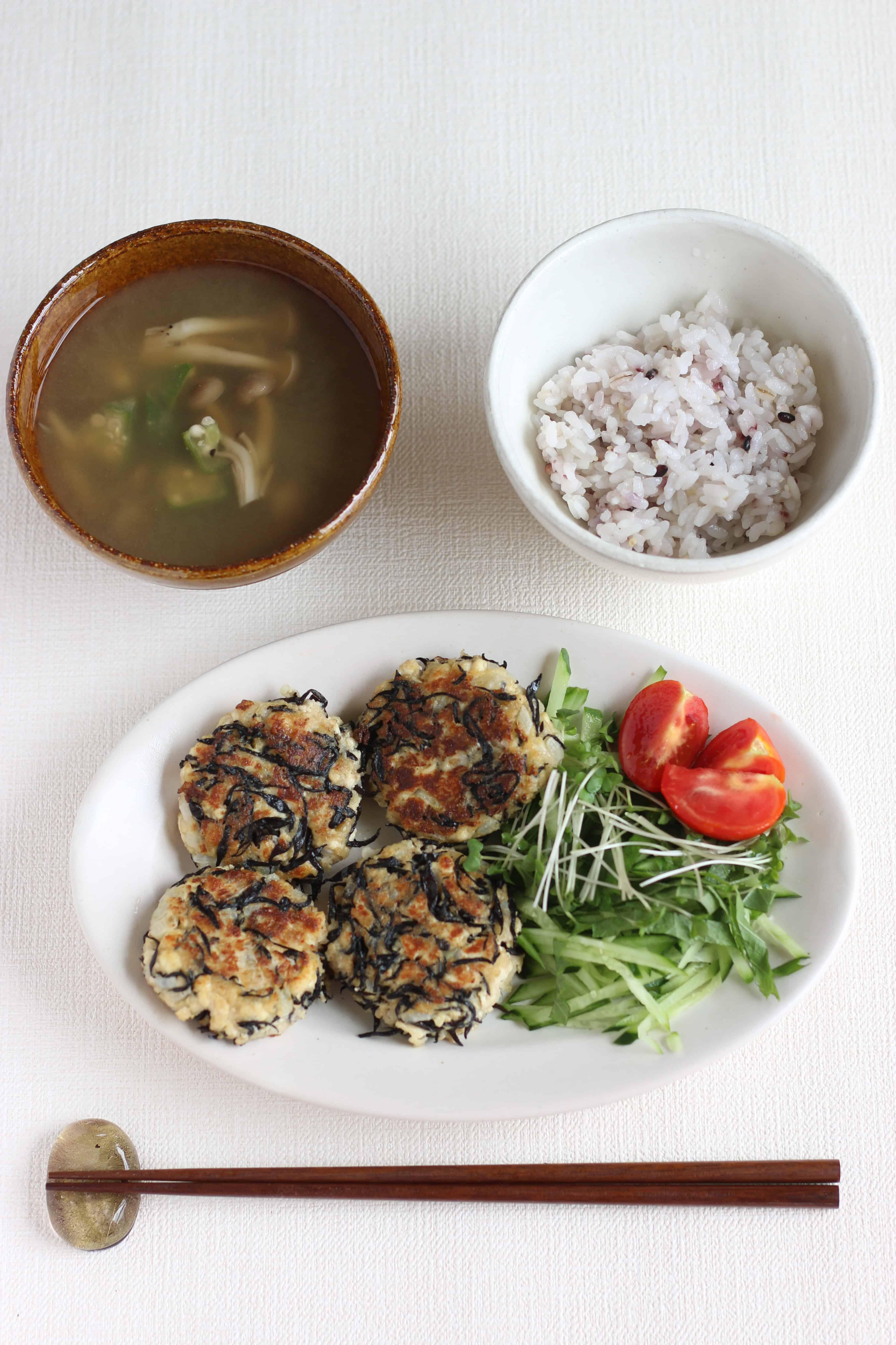 vegetarian tofu hambagu