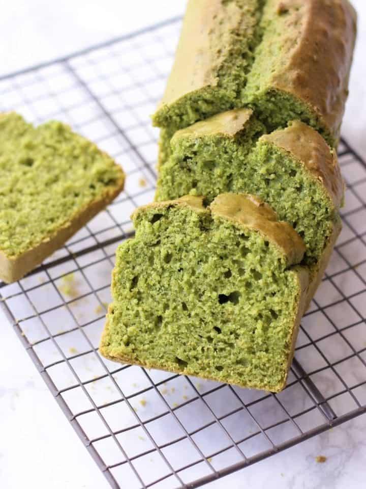 Vegan Matcha Pound Cake