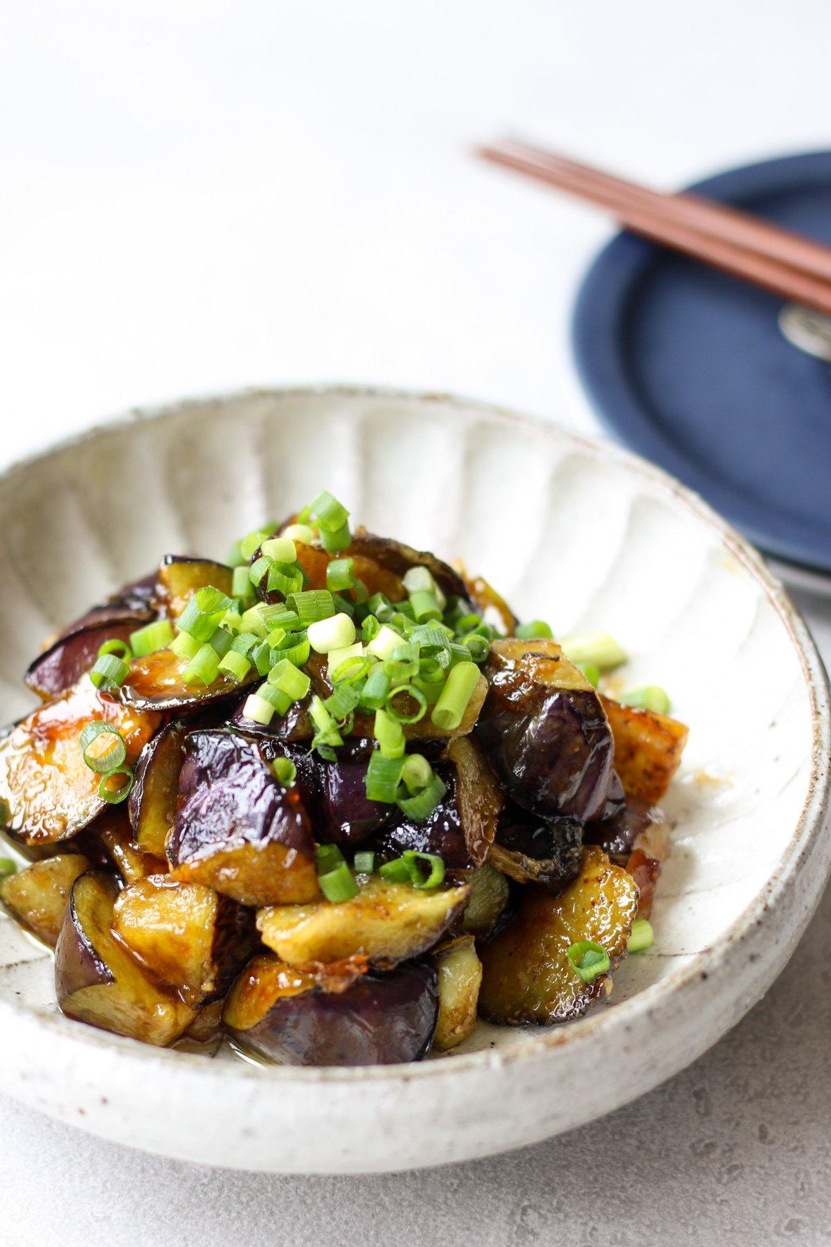 Eggplant teriyaki