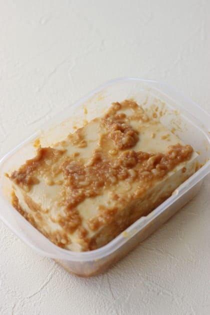 Tofu with Amazake miso