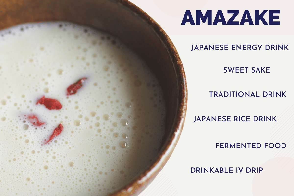 Amazake Sake lees and Rice koji