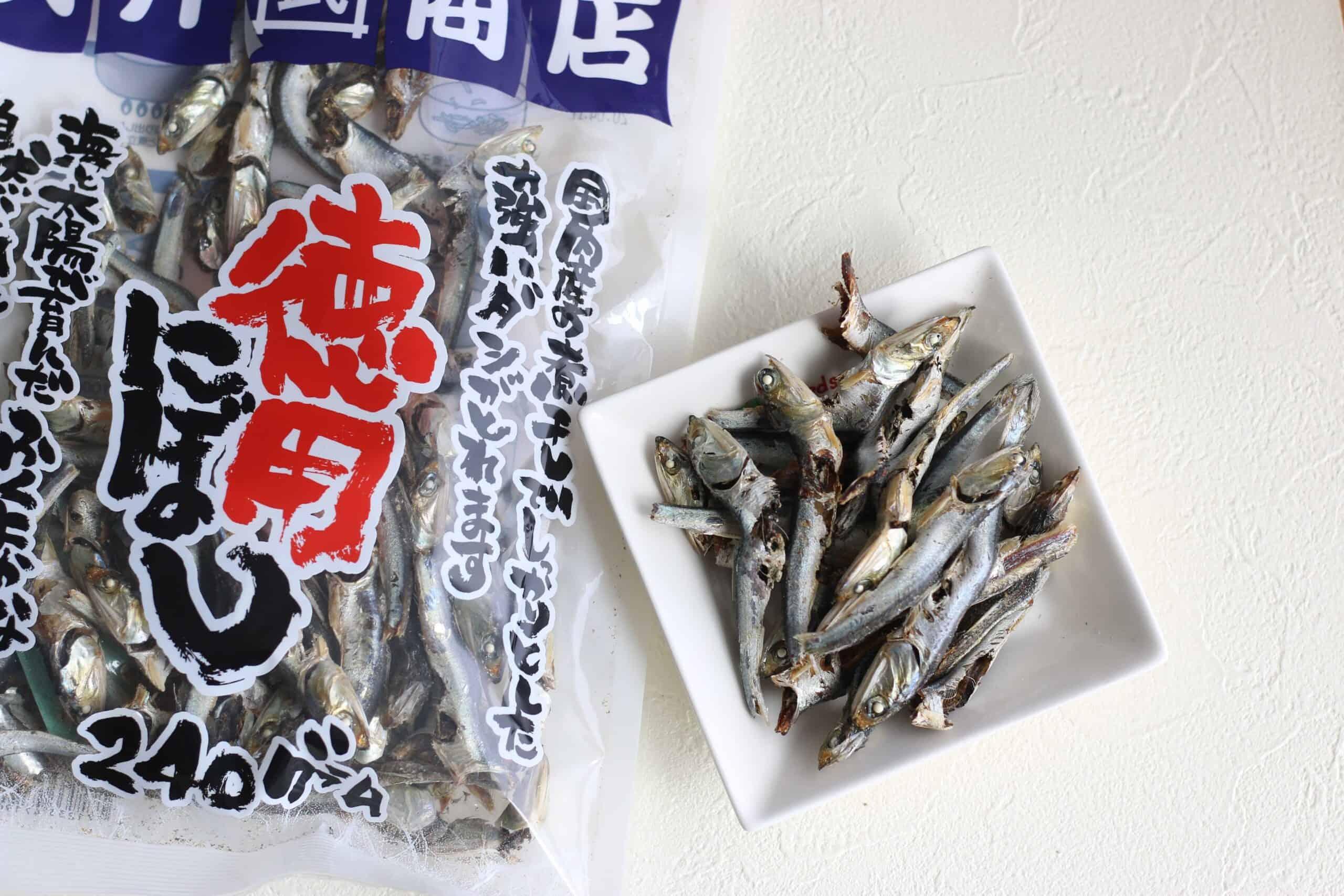 niboshi for dashi stock