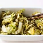 Japanese pickled napa cabbage
