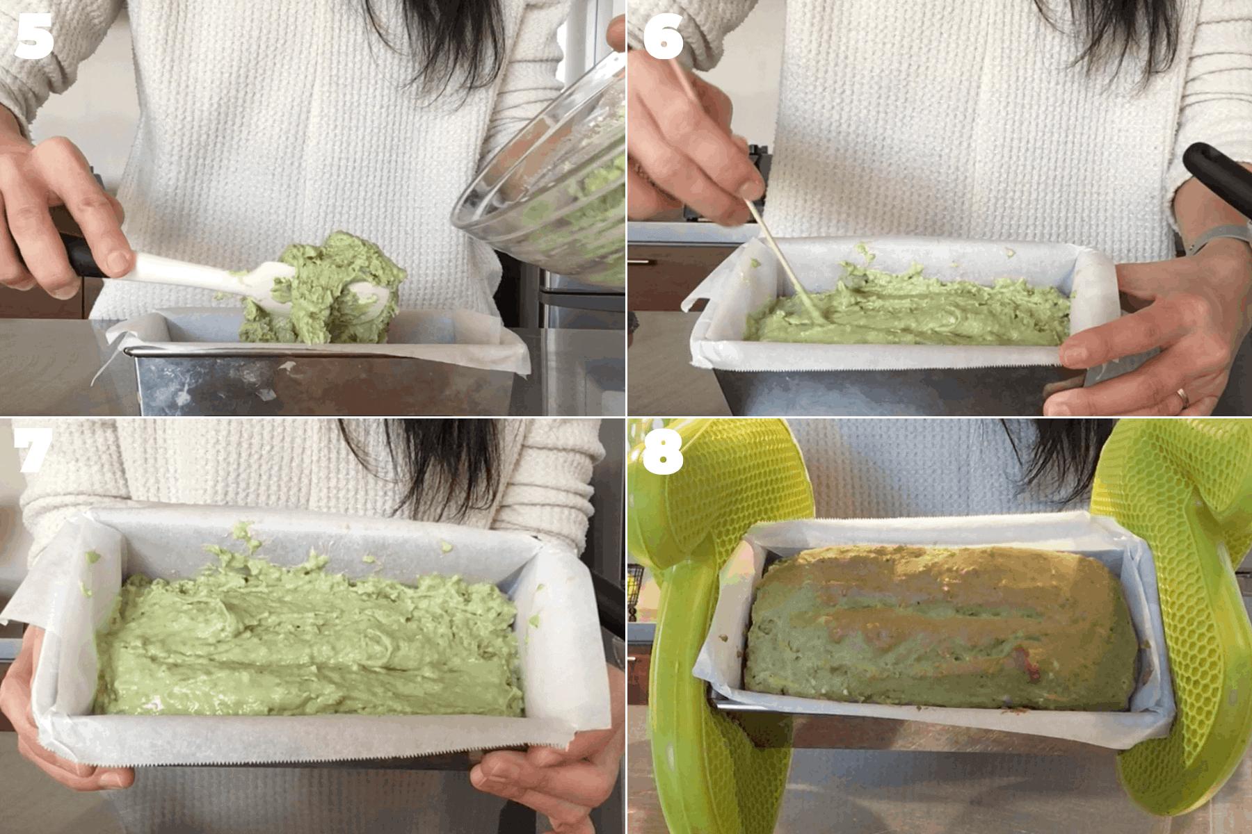 ヴィーガン抹茶パウンドケーキの作り方詳細