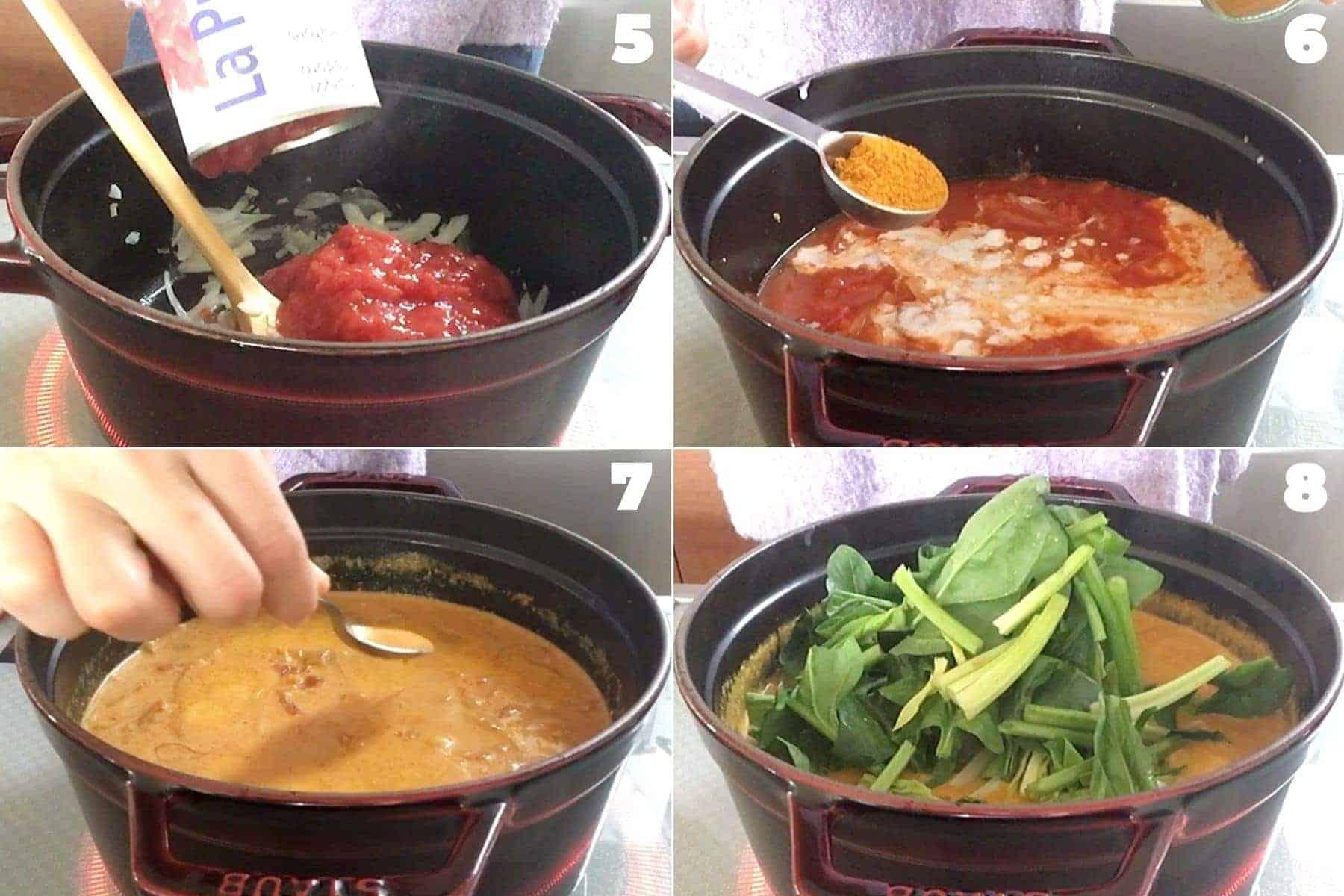 ひよこ豆のカレーの作り方