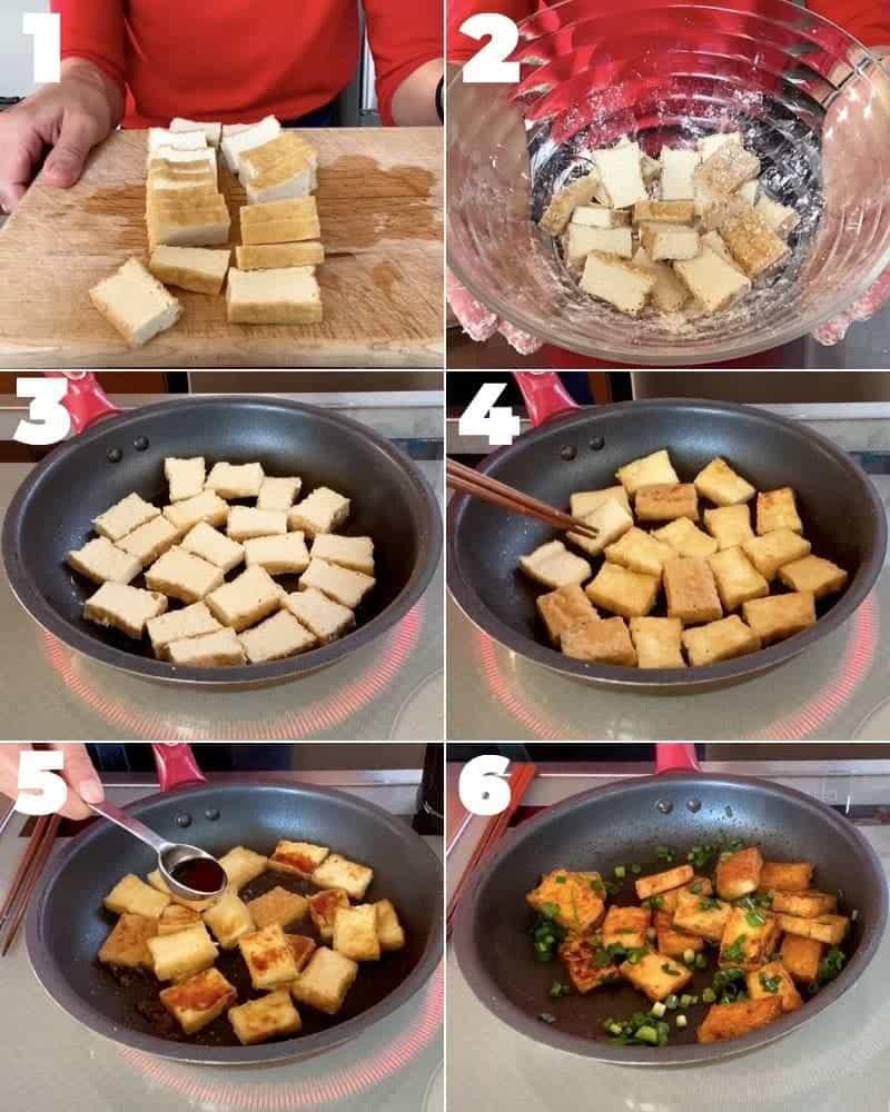 How to make Teriyaki Atsuage Tofu