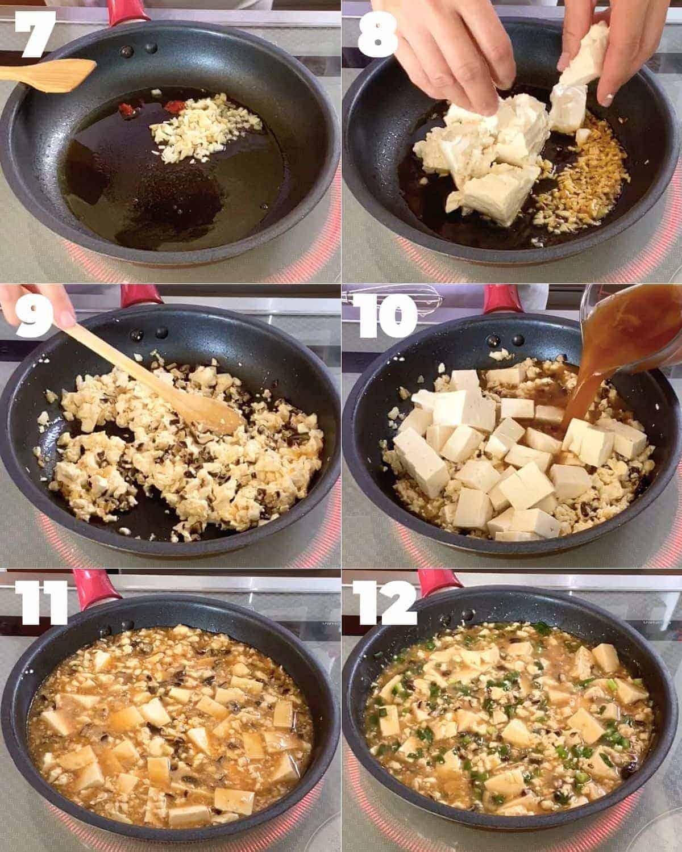 how to make Japanese mapo tofu