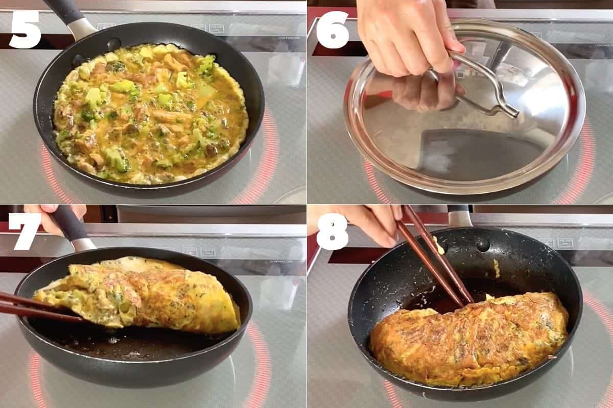 how to make omelette with canned mackerel