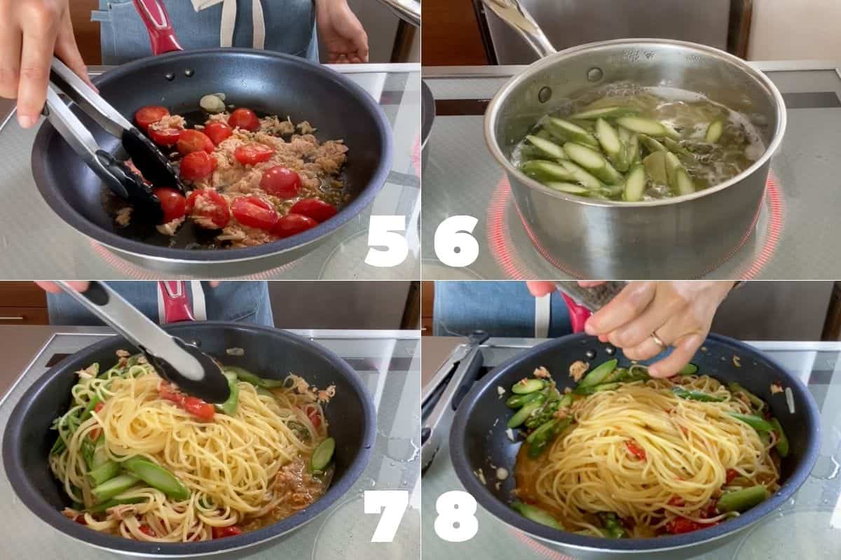 How to make Tuna and Asparagus Pasta