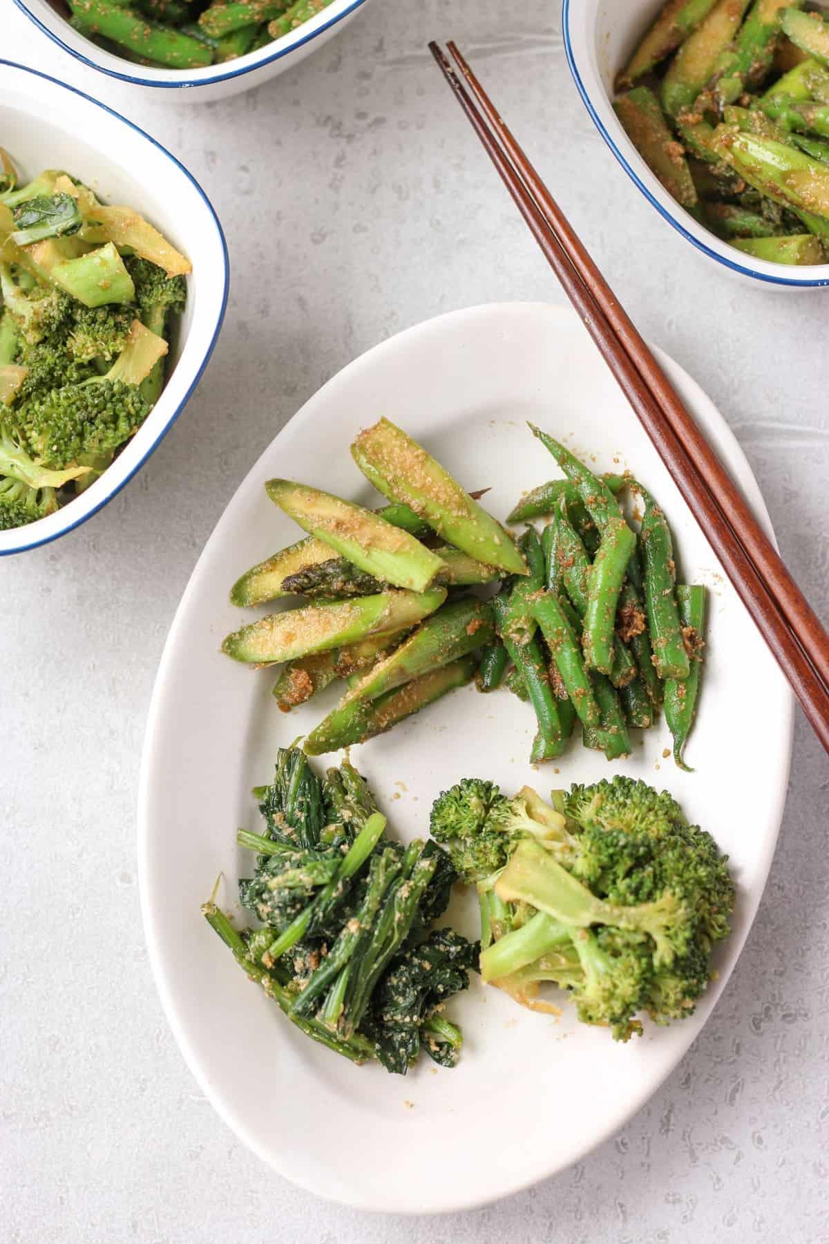 Gomaae Recipe (Japanese Goma Salad)
