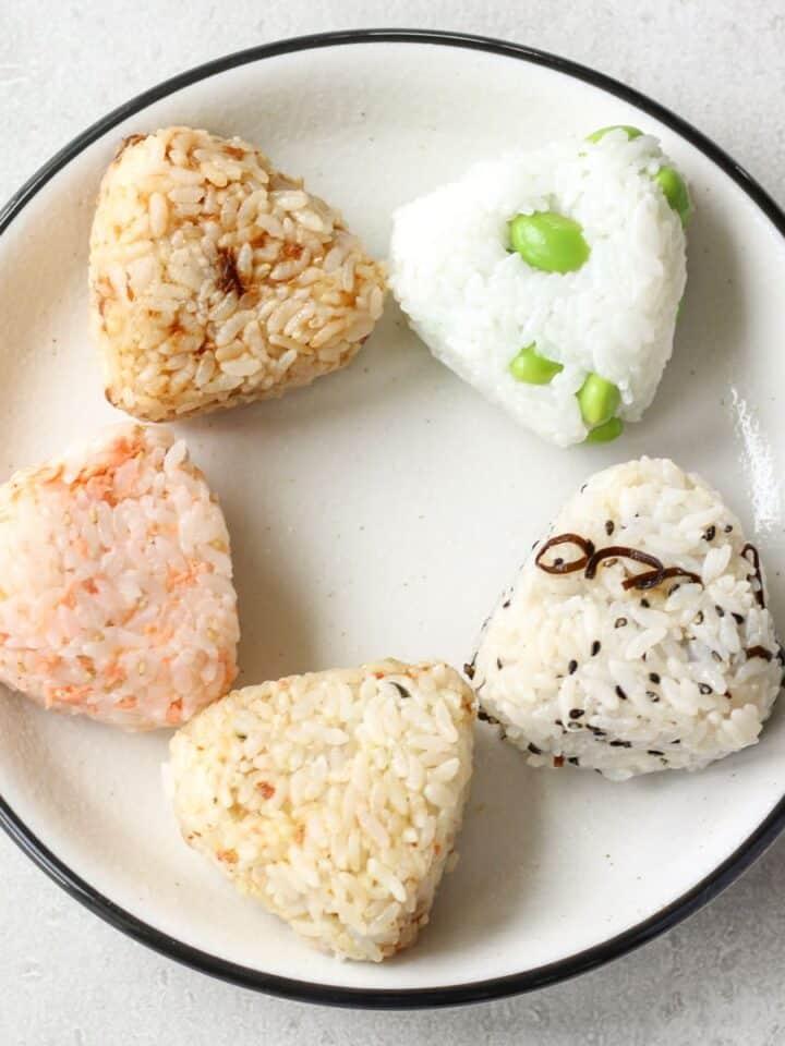 simple onigiri without nori