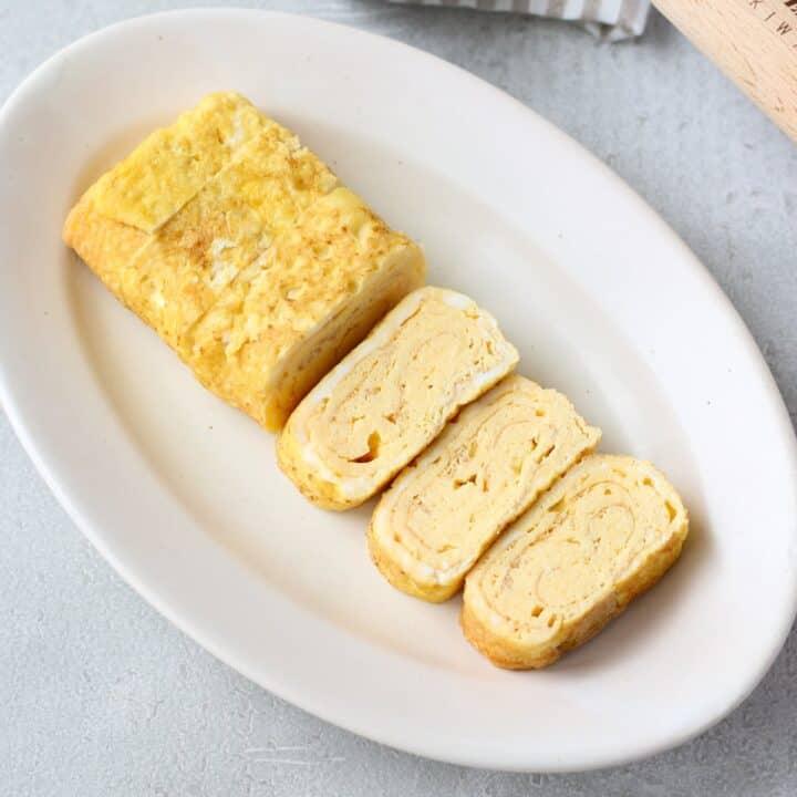 fluffy tamagoyaki(Japanese omelette)