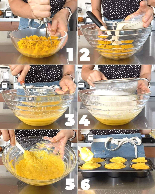 How to make Vegan Kabocha Squash(pumpkin) Muffins