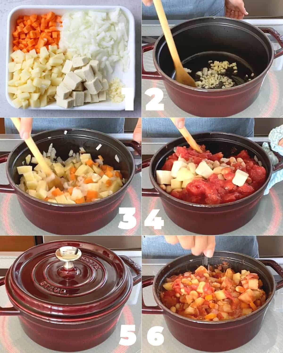 How to cook Simmered soybeans and koyadofu in tomato sauce