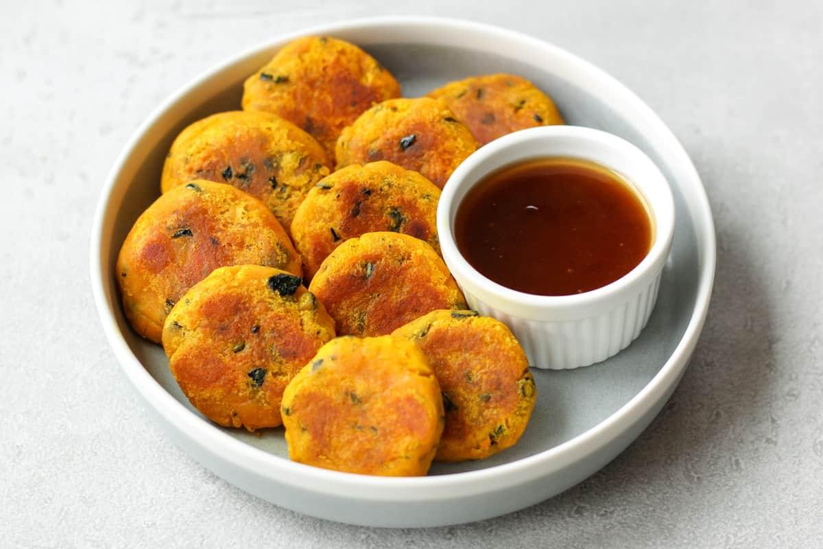 Kabocha Dango(Japanese Pumpkin Recipe)