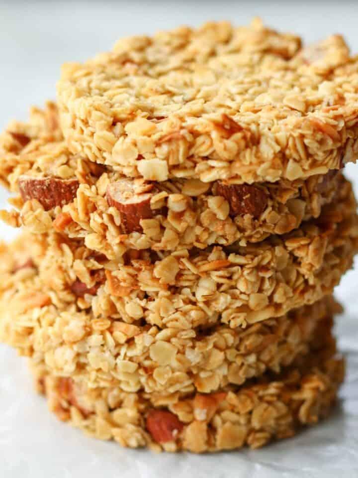 Easy Vegan Oatmeal Cookies (No flour)