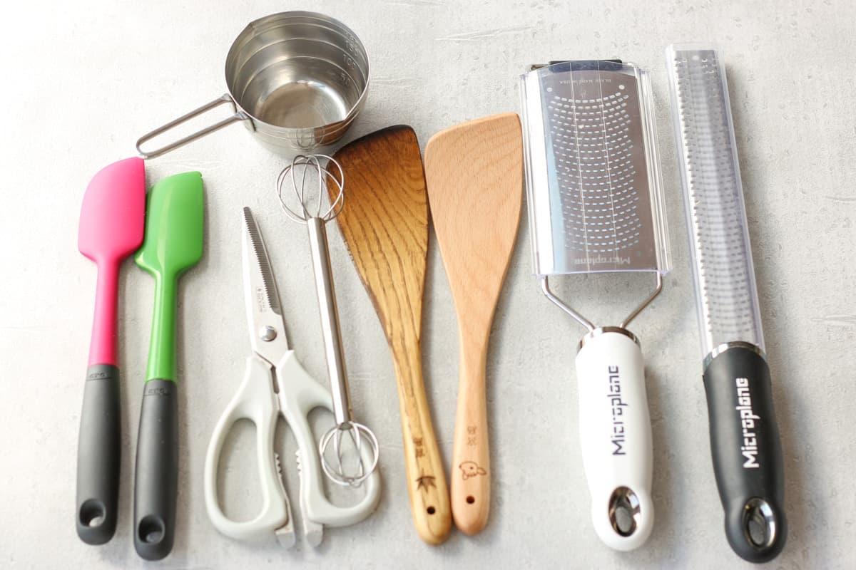 料理する時に使うキッチンツール