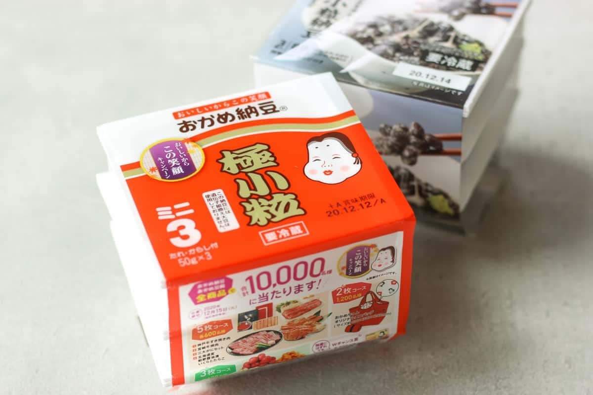 natto in a package