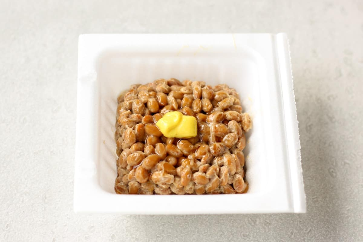 natto in a pack