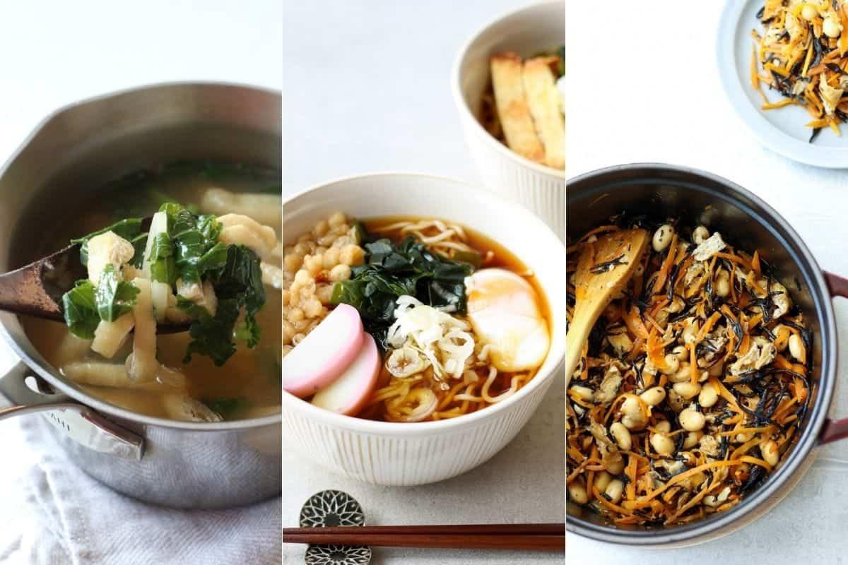 Recipes using niboshi dashi