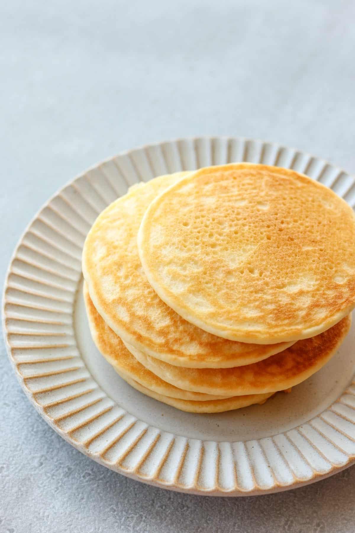 Fluffy Rice Flour Pancakes