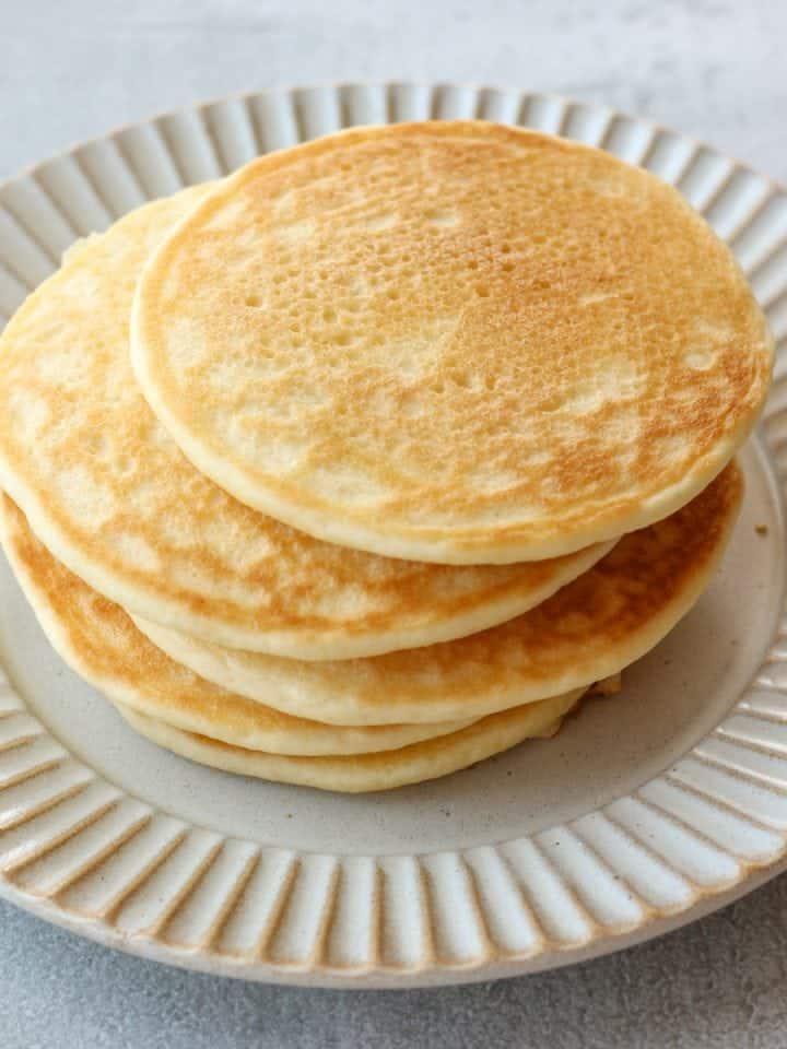 米粉と豆乳のパンケーキ