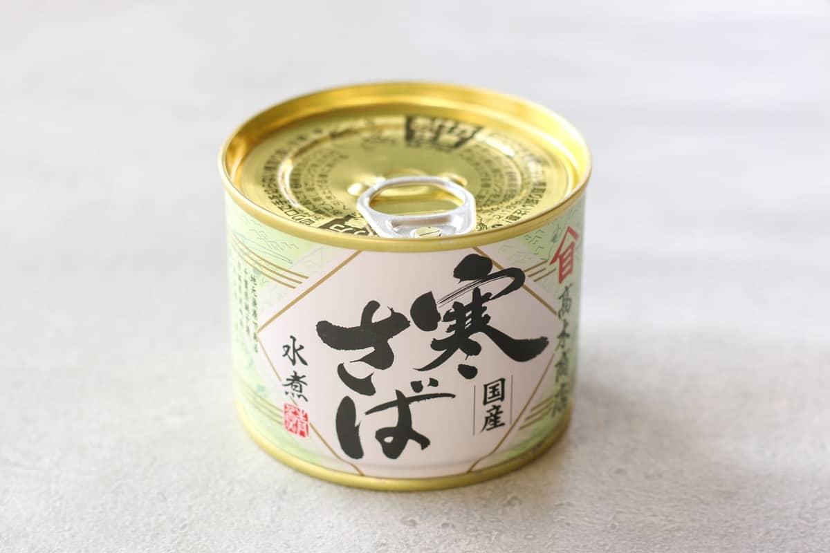 Japanese canned mackerel