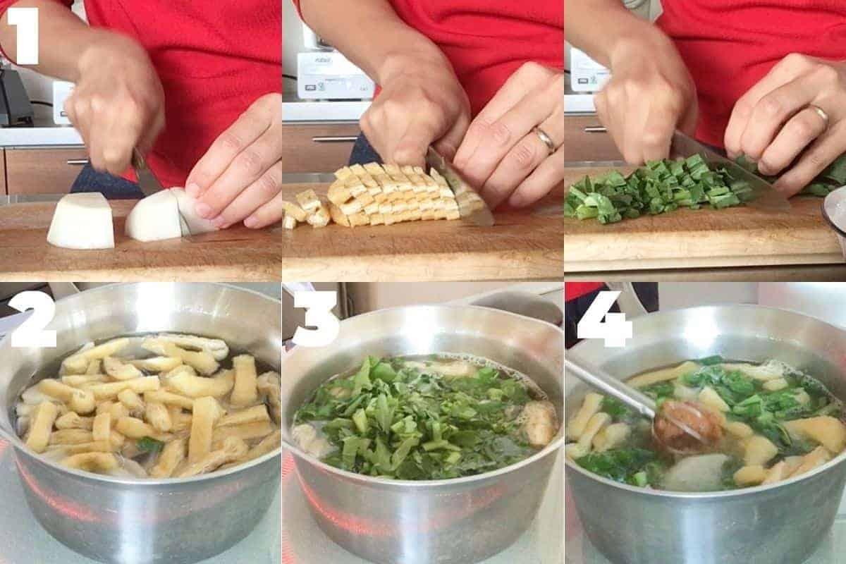 how to make daikon miso soup