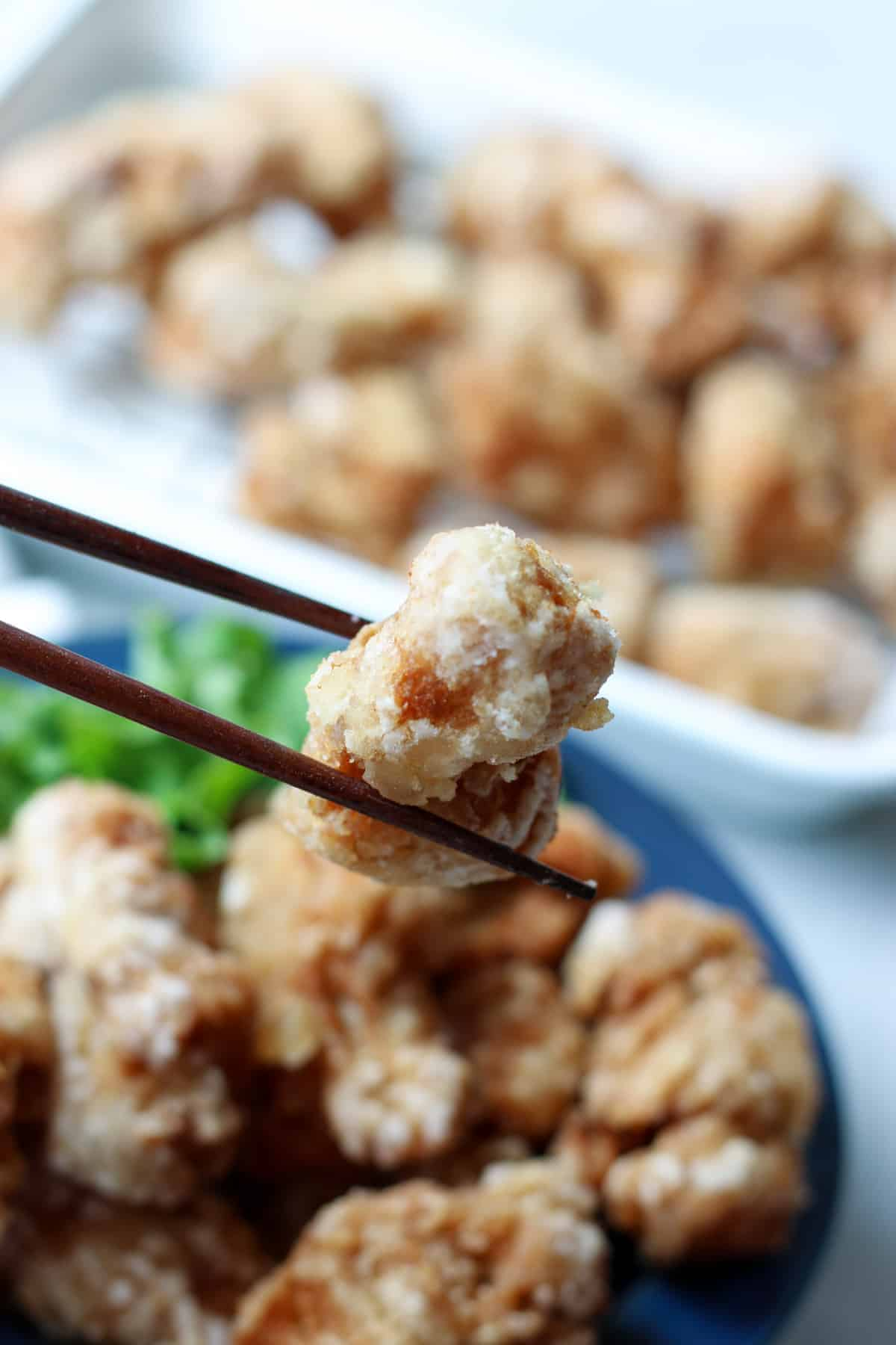 vegan karaage (soy meat recipe)