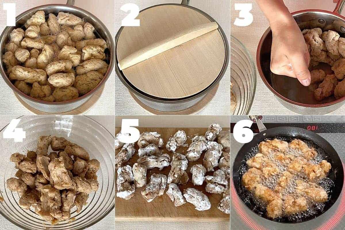 How to make vegan karaage (soy meat recipe)