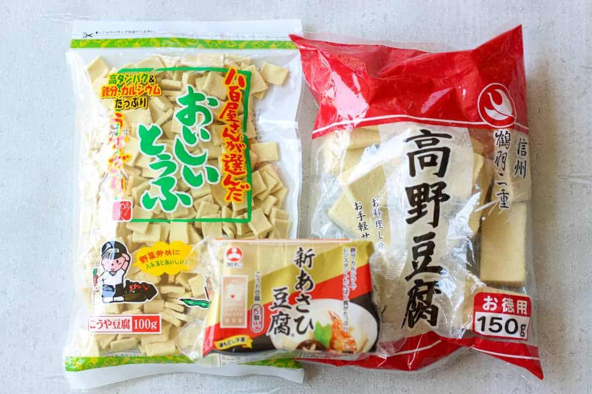 koya dofu in package